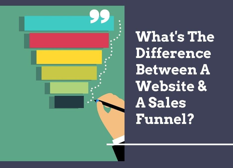 What's The Difference Between A Website & A Sales Funnel?