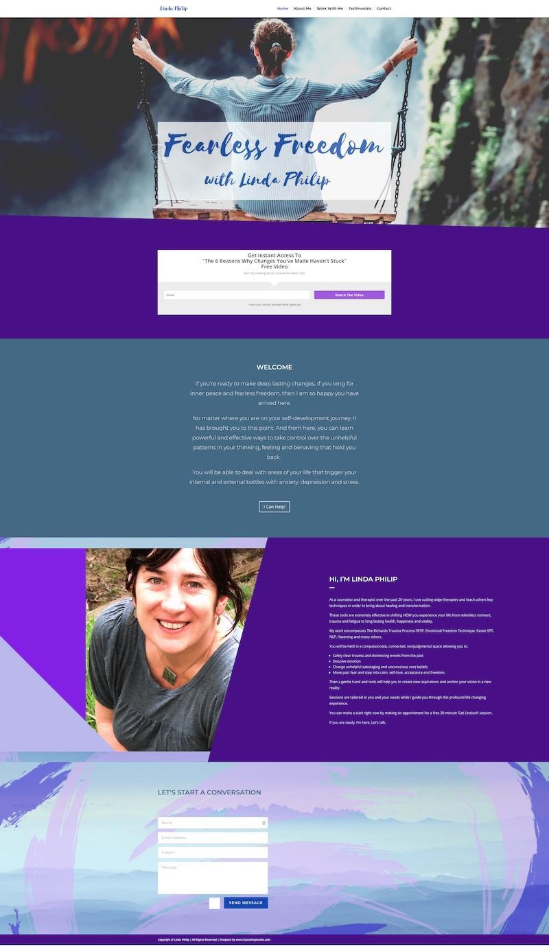 Linda Philip Website